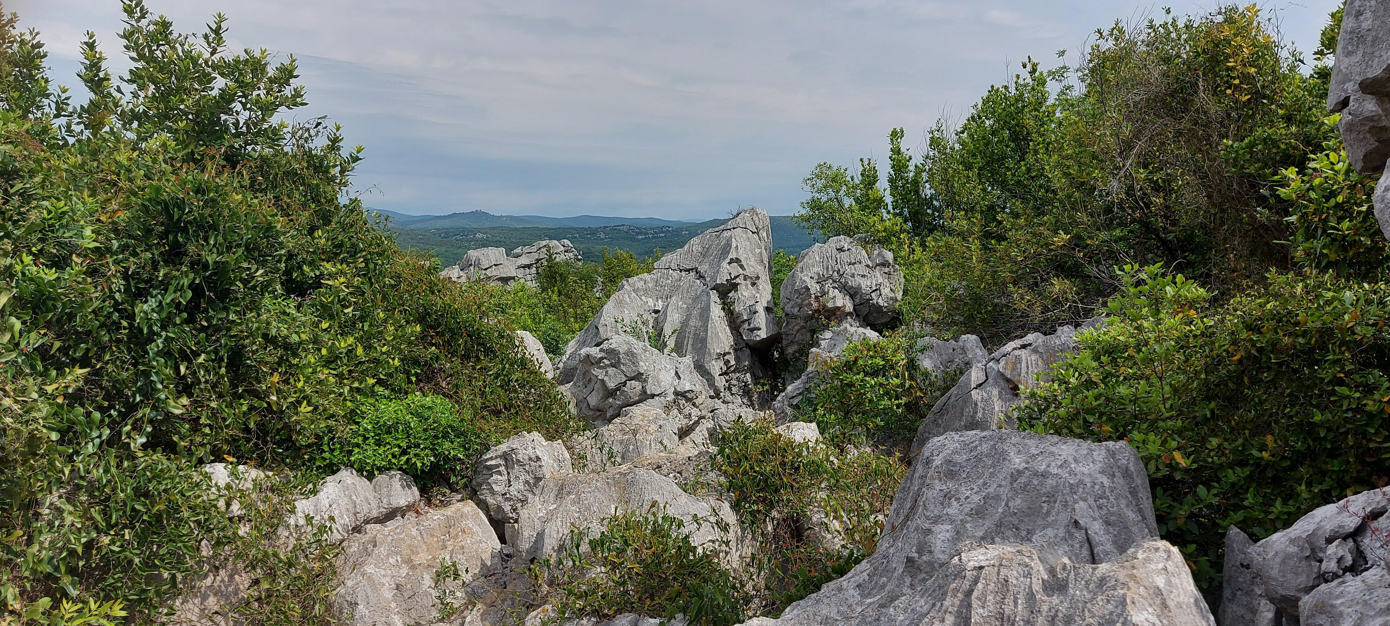 sentier mer des rochers