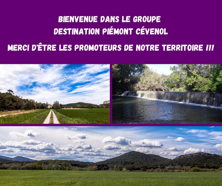 groupe facebook destination Piémont Cévenol